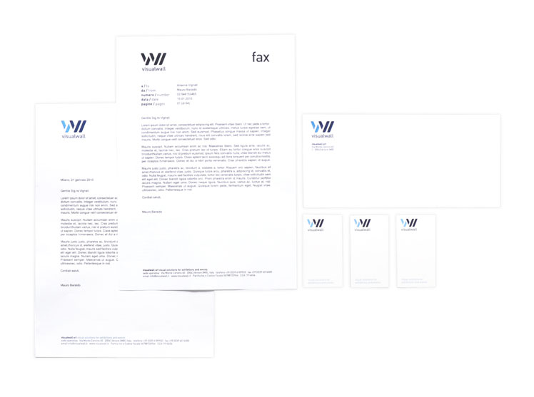 Visualwall corporate identity