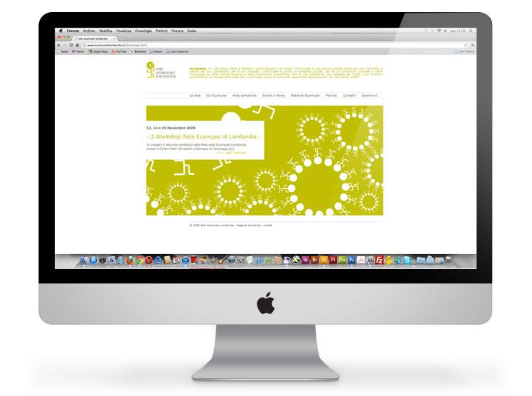 Rete Ecomusei Lombardia website