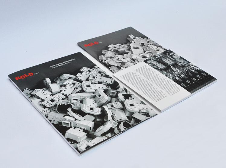 Rold gruppo cartellina istituzionale e brochure prodotti elettrotecnica