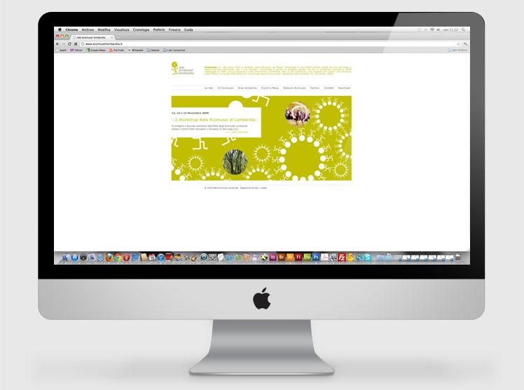 Rete Ecomusei Lombardia sito web