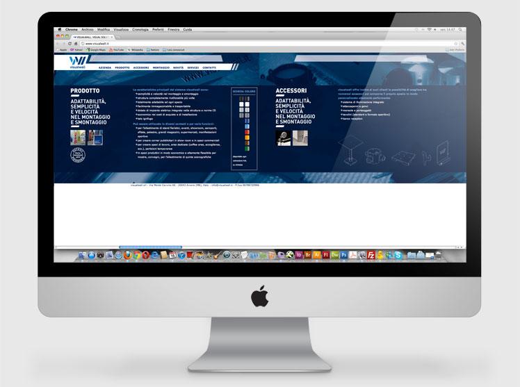 visualwall sito web