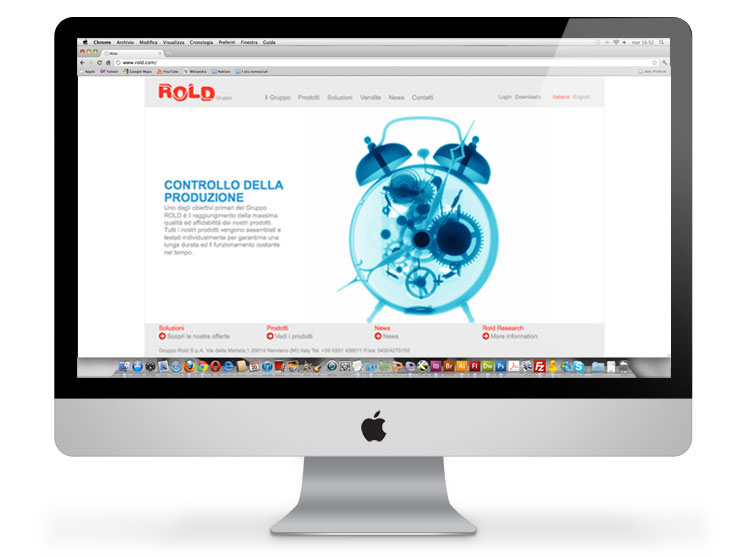 Rold gruppo website