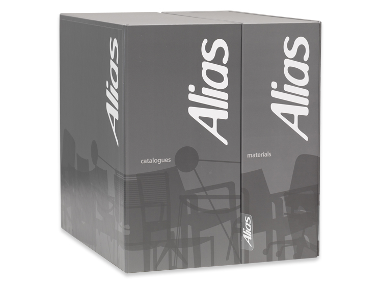 Alias materials and catalogue boxes