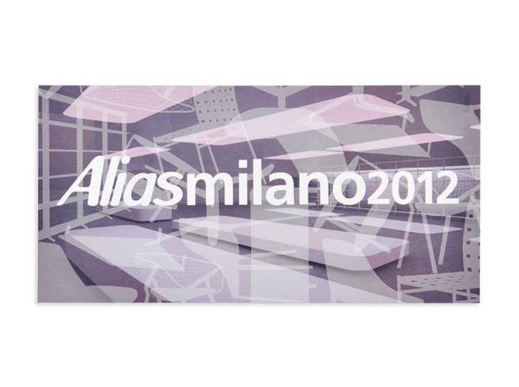 Alias Salone del Mobile 2012 - Invito
