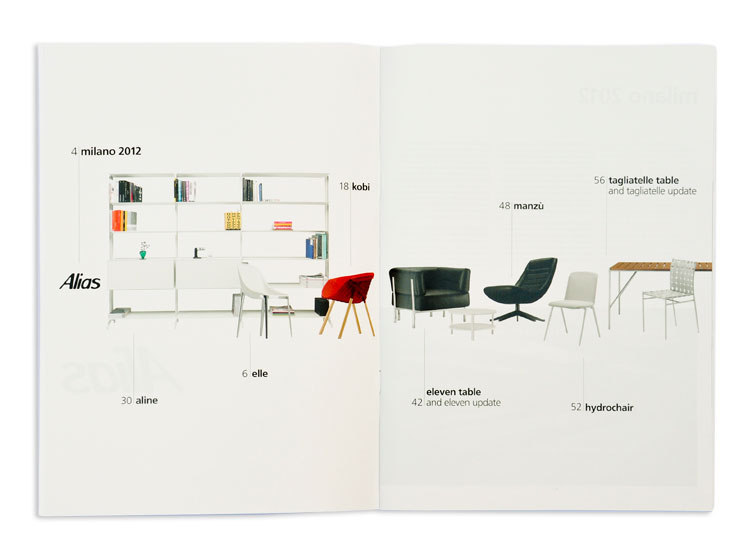 Alias Salone del Mobile 2012 - News brochure