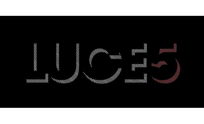 Luce5 - logo - negativo colori