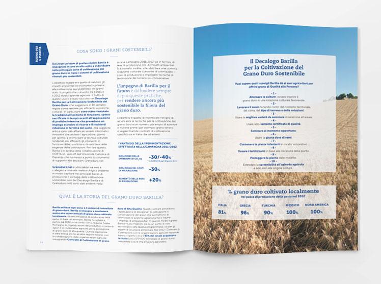 Barilla rapporto di sostenibilità 2013