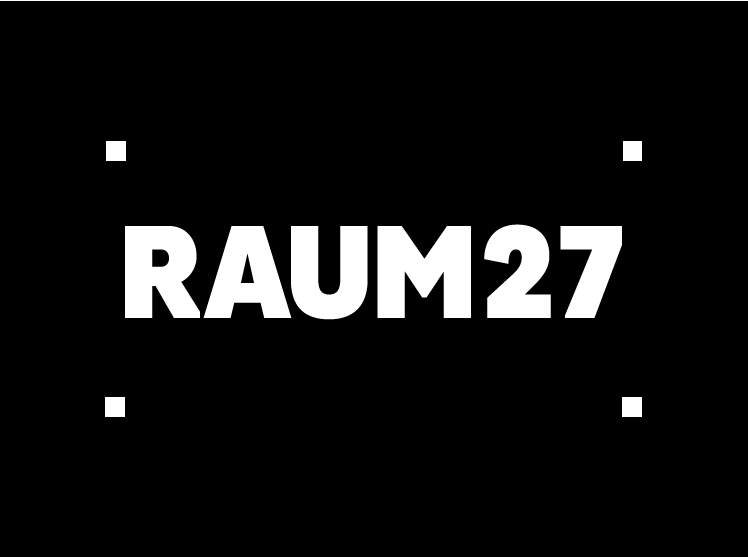 raum27 logo negativo