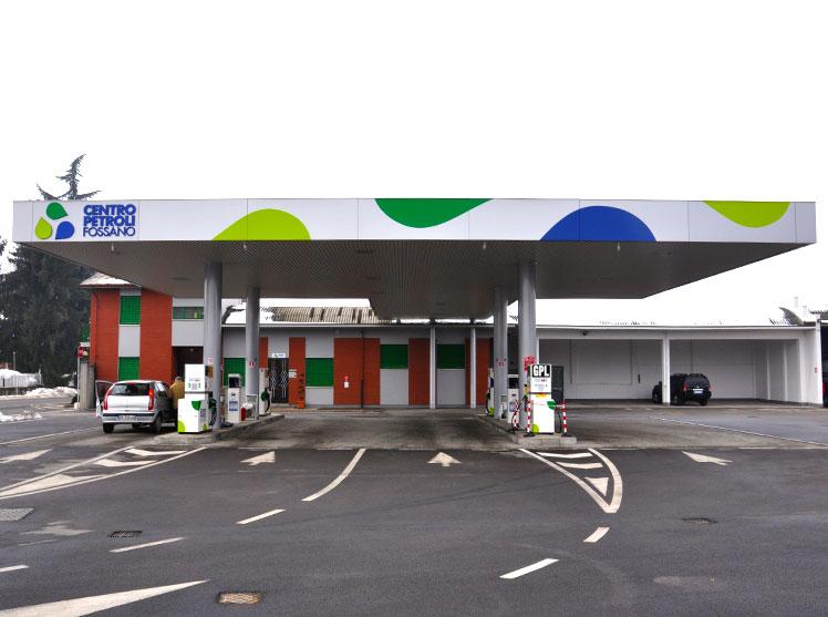 Centro Petroli Fossano distributore