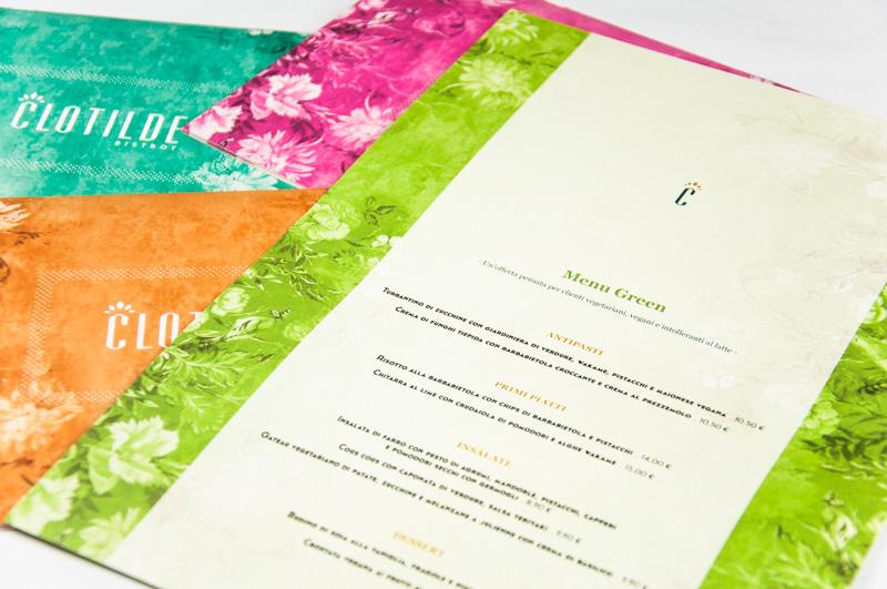 Clotilde menu estivo