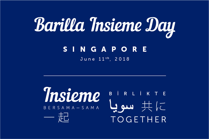 Barilla Insieme day 2018 Singapore