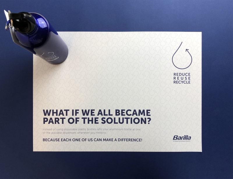 Barilla Reduce Reuse Recycle 1