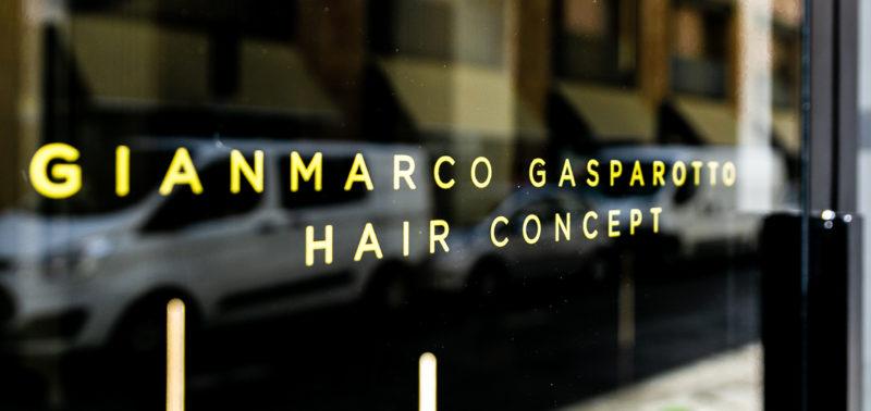 Gianmarco Gasparotto Brand vetrofania